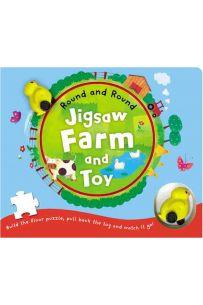 Round and Round : Jigsaw Farm & Toy