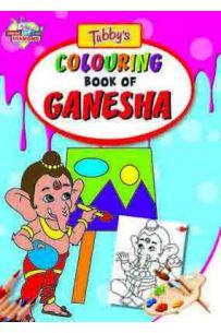 Tubbys Colouring Book Of Ganesha