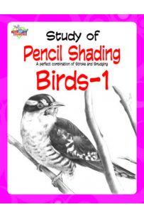 Study Of Pencil Shading Birds - 1