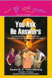 You Ask He Answers English (HB)