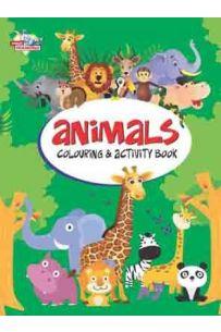 Animals Colouring & Activity Book