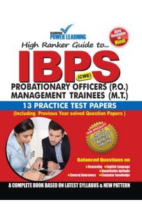 IBPS Probationary Officers (P.O.) Management Trainees (M.T.)