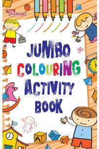 Jumbo Colouring Activity Book