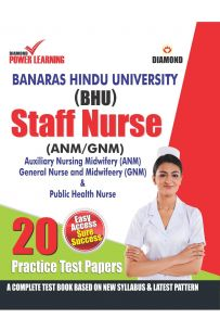 BHU Staff Nurse (ANM) (GNM) 20 PTP English